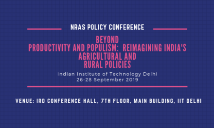 NRAS Policy Conference 2019