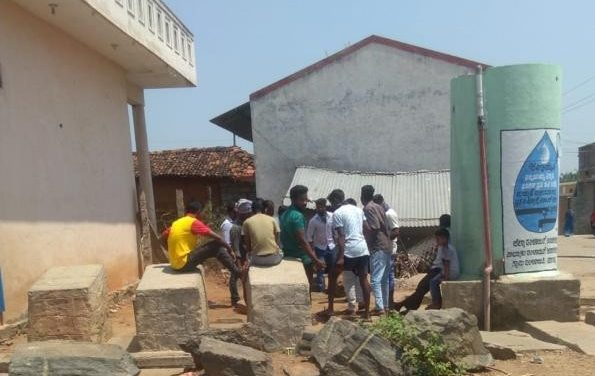 THE PLIGHT OF A VILLAGE DURING THE 'LOCK DOWN': Linganapura, Ramanagara District
